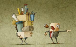 Увольнение работника