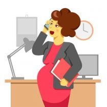 беременная сотрудница
