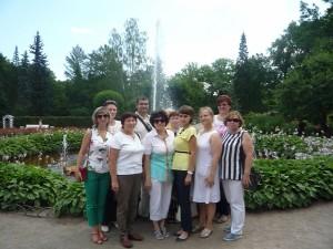 Подарок от ЦПК - Экскурсия в Петергоф июль 2016г.